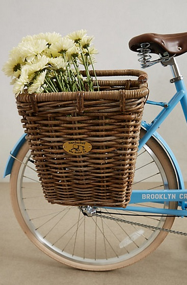 Adorable Surfside Bike Basket, $78 from Anthropologie