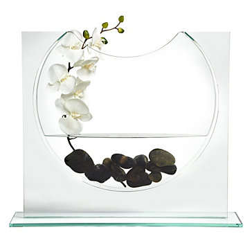 Modern and clean Ellipse Vase, Z Gallerie- $99.99