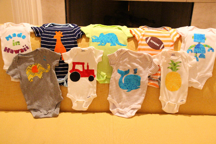 Guest Post: Baby Shower Activity- How to Make a Fabric ...