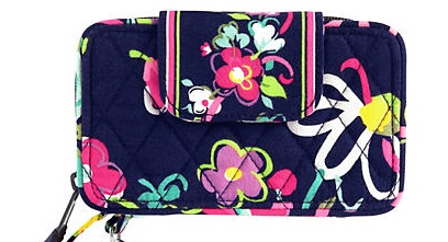 Smartphone wristlet in Ribbons, $49.00 by Vera Bradley Fits all iPhone devices in an Otterbox case!