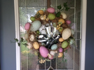 Bye bye Easter wreath!