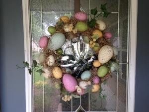 Bye bye Easter wreath!