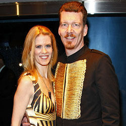 Real Housewife of New York, Alex McCord, and husband, Simon van Kempen Photo: NYMag.com