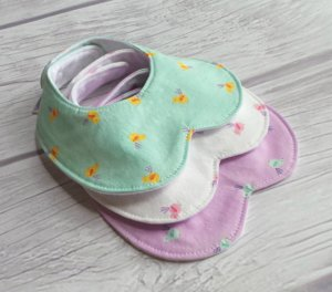 3-pk Peter Pan Collar Bib Set by Jaybird & Ro, $30 Photo: Jaybird & Ro