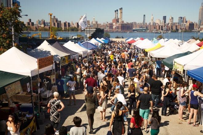 Smorgasburg Brooklyn Flea Food Market, Photo: Smorgasburg