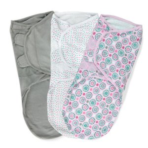 Summer Infant SwaddleMe Adjustable Infant Wrap, 3PK for $27.99 on Amazon Photo: Amazon