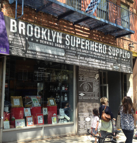 Brooklyn Superhero Supply Co. storefront Photo: Brooklyn Superhero Supply Co.