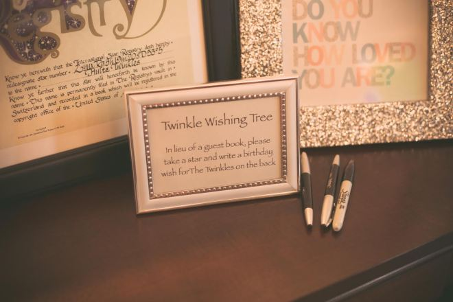 International Star Registry...what a precious and special idea! Photo: Headrick's Photography