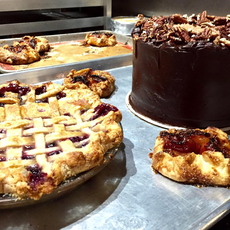 Concord grape pie, peach galette, German chocolate from Feast Bakery Photo: Feast Bakery Facebook