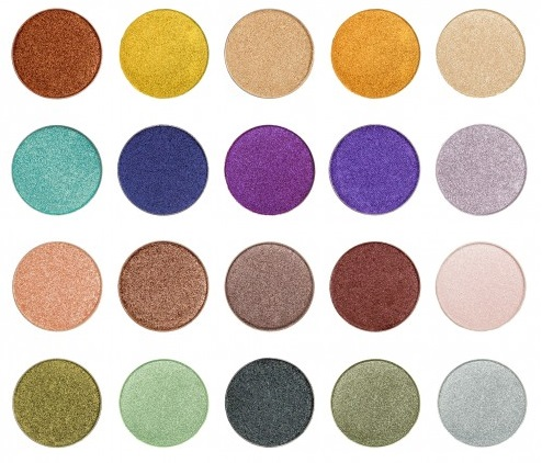 Gorgeous Makeup Geek Foiled Eye Shadow Complete Set Photo: Makeup Geek