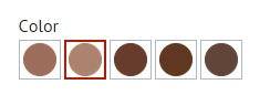 5 shades of rich brow color by Milani Photo: Milani Cosmetics