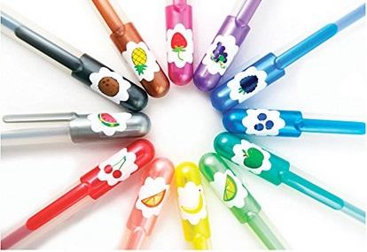 Yummy glitter gel pens
